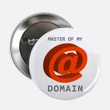 """'Master of My Domain' 2.25"""" Button"""