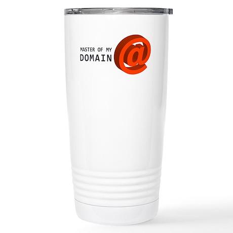 'Master of My Domain' Stainless Steel Travel Mug