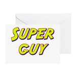 Super guy Greeting Card