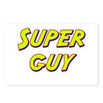 Super guy Postcards (Package of 8)