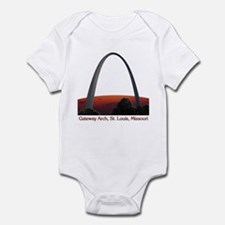 St. Louis Arch - White T-shirt Body Suit