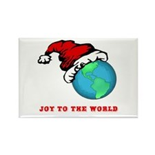 Joy To The World Rectangle Magnet (10 pack)