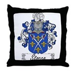 Stocco Family Crest Throw Pillow