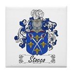 Stocco Family Crest Tile Coaster