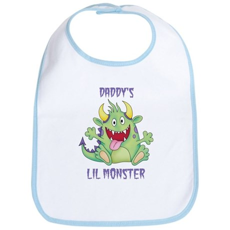Daddy's Lil Monster Bib