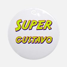 Super gustavo Ornament (Round)