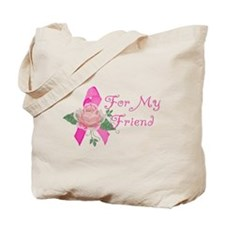 Breast Cancer Support Friend Tote Bag