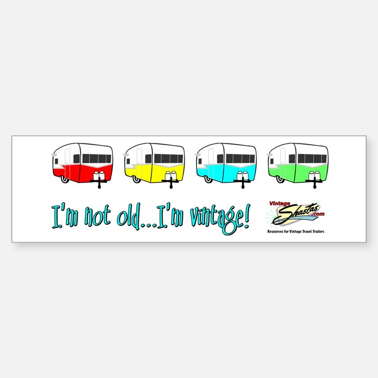 Pick your color! Bumper Bumper Bumper Sticker