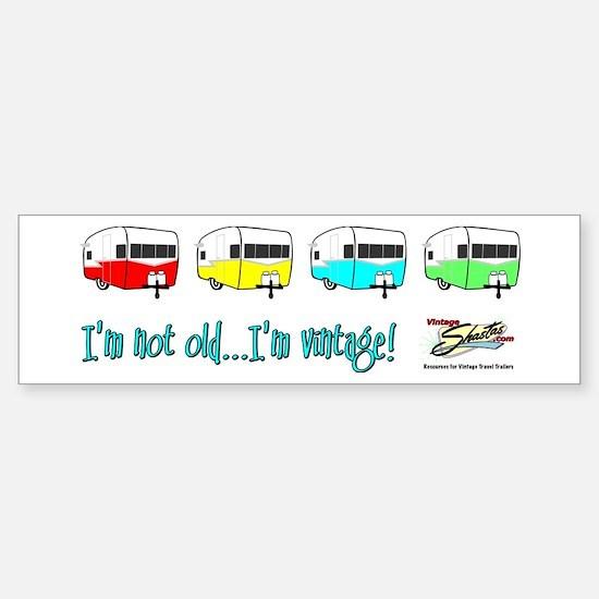 Pick your color! Bumper Bumper Stickers