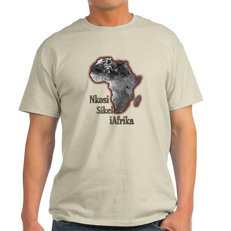Nkosi sikelel' iAfrika - Light T-Shirt