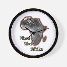 Nkosi sikelel' iAfrika - Wall Clock