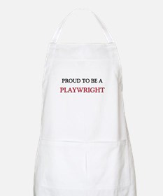 Proud to be a Playwright BBQ Apron