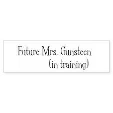 Future Mrs. Gunsteen Bumper Bumper Sticker