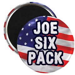 The Joe Six Pack Magnet