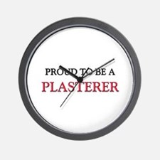 Proud to be a Plasterer Wall Clock
