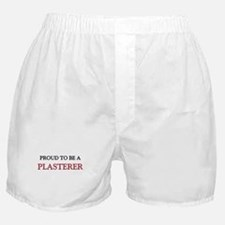 Proud to be a Plasterer Boxer Shorts