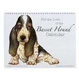 Basset hound Wall Calendars