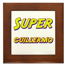 Super guillermo Framed Tile