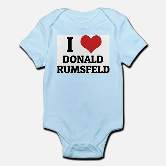 I Love Donald Rumsfeld Infant Creeper
