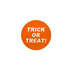 Trick or Treat! Mini Button (10 pack)