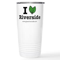 I Love Riverside Stainless Steel Travel Mug