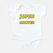 Super grover Infant Bodysuit