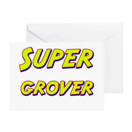 Super grover Greeting Cards (Pk of 10)