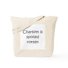 Cute Charlotte Tote Bag
