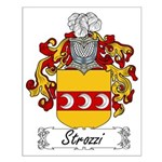 Strozzi Family Crest Small Poster