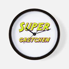 Super gretchen Wall Clock