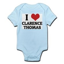 I Love Clarence Thomas Infant Creeper