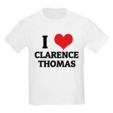 I Love Clarence Thomas Kids T-Shirt