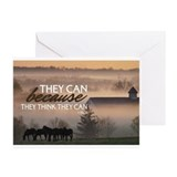 Motivational Greeting Cards (20 Pack)