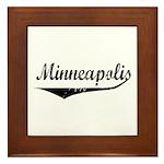 Minneapolis Framed Tile