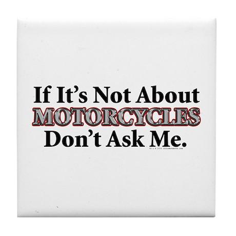 Motorcycles Tile Coaster