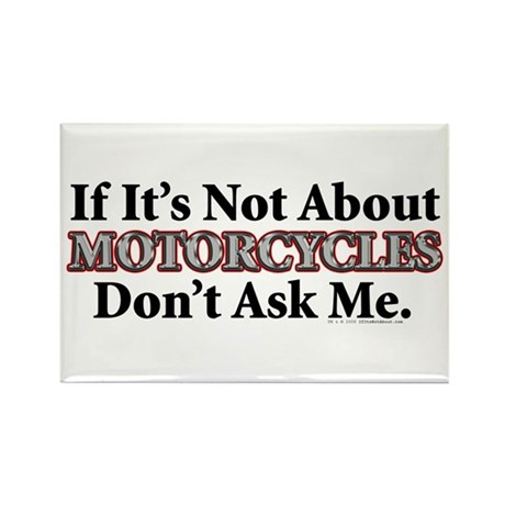 Motorcycles Rectangle Magnet (10 pack)