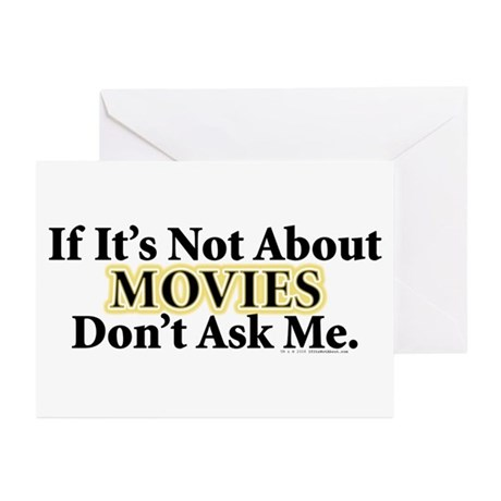 Movies Greeting Cards (Pk of 10)