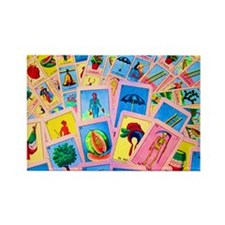 Loteria Rectangle Magnet