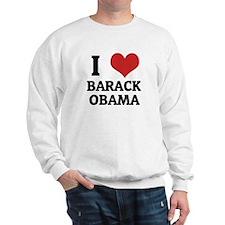 I Love Barack Obama Sweatshirt