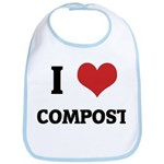 I Love Compost Bib