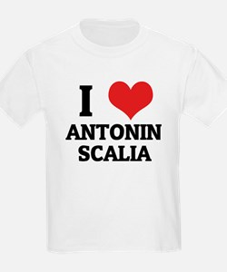 I Love Antonin Scalia Kids T-Shirt