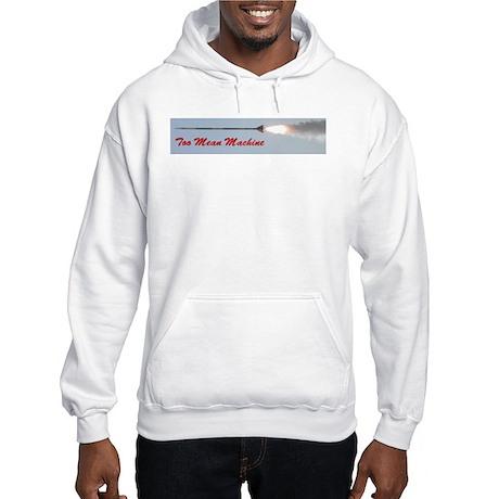 TooMeanMachine Rocket Hooded Sweatshirt