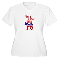 'Tired of All the Bull? Vote! T-Shirt
