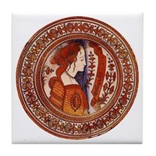 Tuscan Renaissance Decorative Tile Coaster