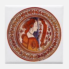 Tuscan Renaissance Decorative Tile Coaster