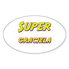 Super graciela Oval Decal