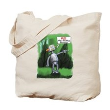 Kill the Fluffy Bunny Tote Bag