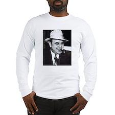 Al Capone w/Cigar Long Sleeve T-Shirt