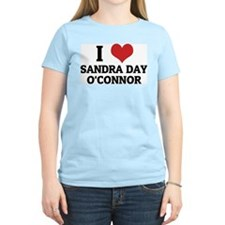 I Love Sandra Day O'Connor Women's Pink T-Shirt