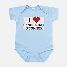 I Love Sandra Day O'Connor Infant Creeper
